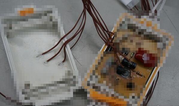 除了电路板及电容部分,也会在对应的外壳相对位置黏贴感温线,看看过程中是否会将热传递到外壳。