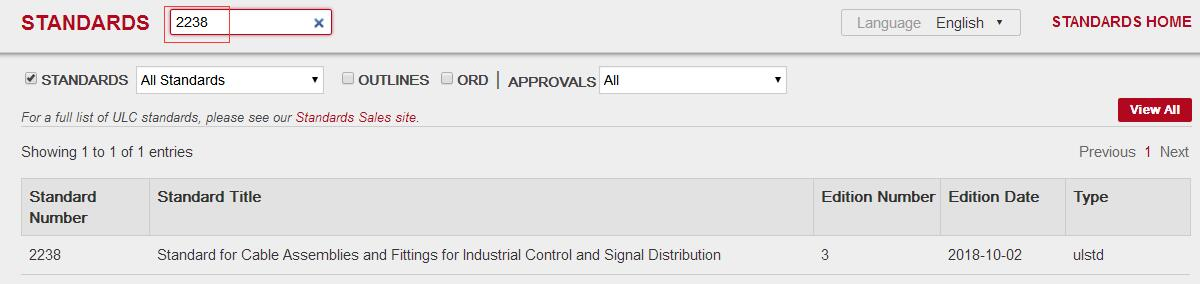 UL标准最新版本如何查询?
