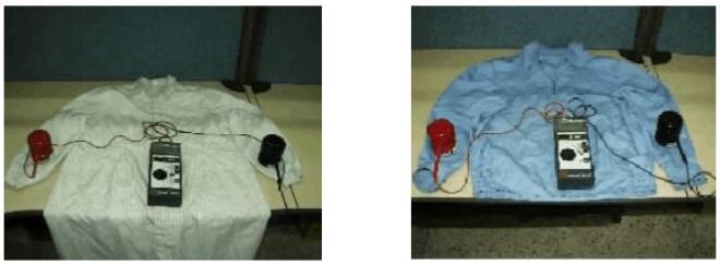 工衣表面电阻测试