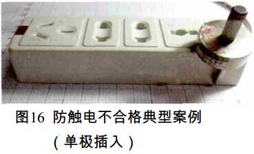 防触电不合格典型案例