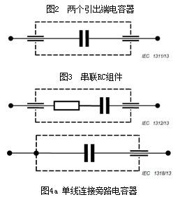 两引出端电容器 (two-terminal capacitor)