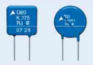 类型2的片状压敏电阻